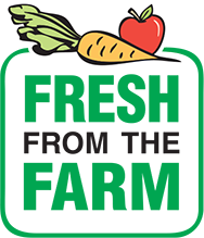 Fresh from the Farm Fundraising logo